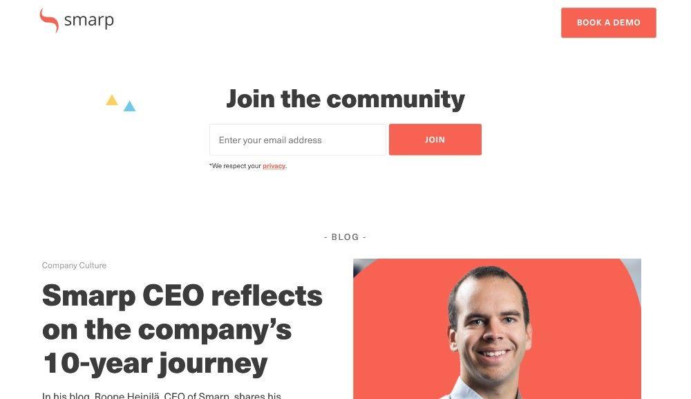 smarp blog marketing examples
