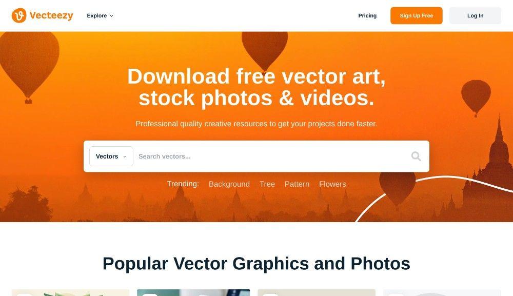vecteezy free stock images