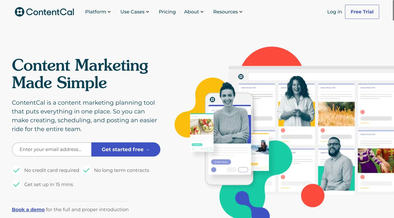 content marketing collaboration tool ContentCal