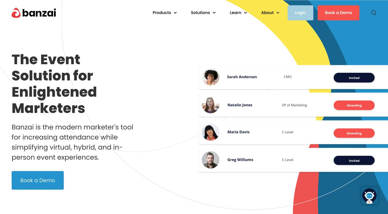 banzai event marketing platform