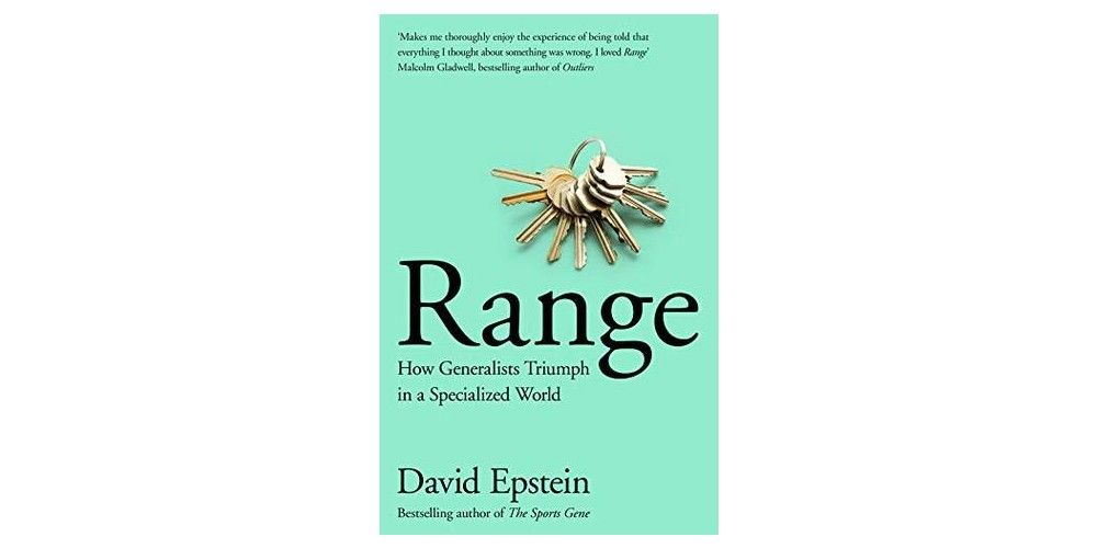 Range: Why Generalists Triumph in a Specialized World recommended marketing books 2021