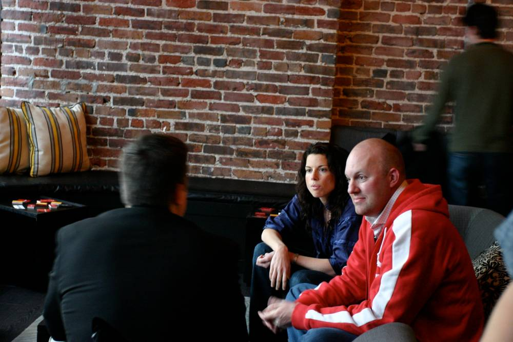 Ning co-founders gina bianchini and Marc Andreessen
