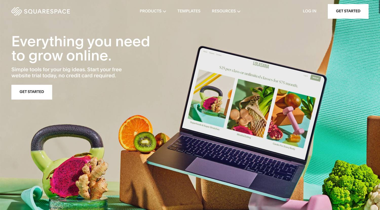 squarespace website builder platform