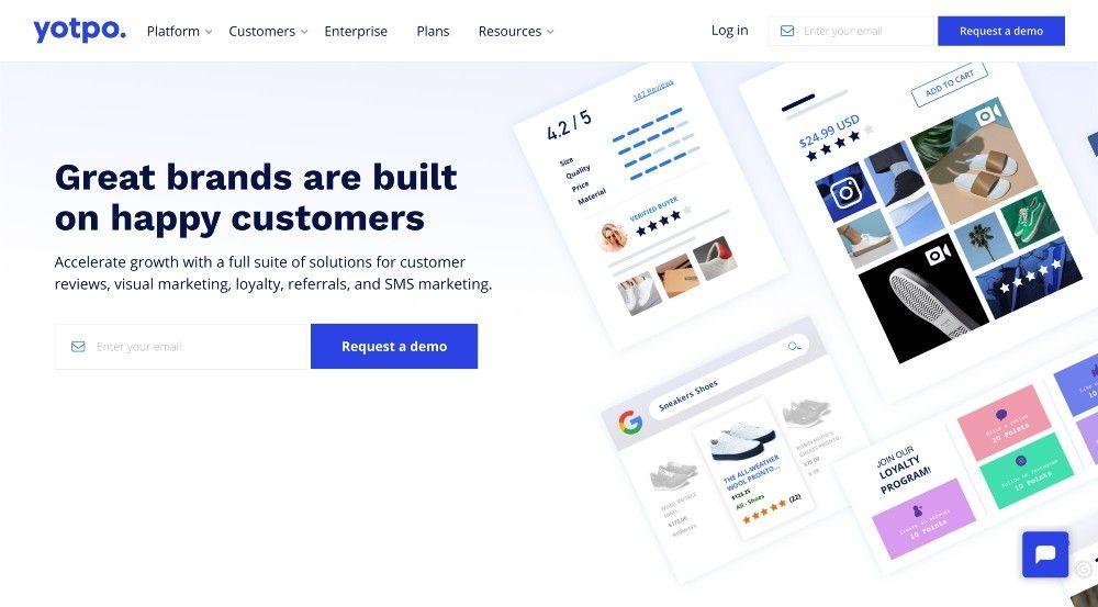 ecommerce marketing startup yotpo