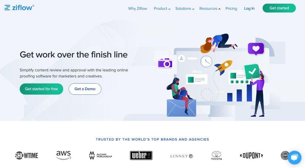 ziflow online proofing tool martech
