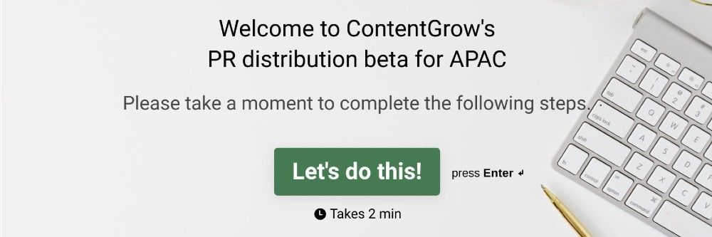 contentgrow press release distribution service
