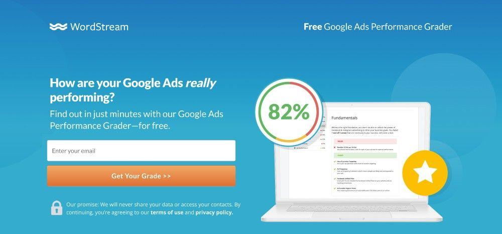google ads performance grader free marketing analytics tools