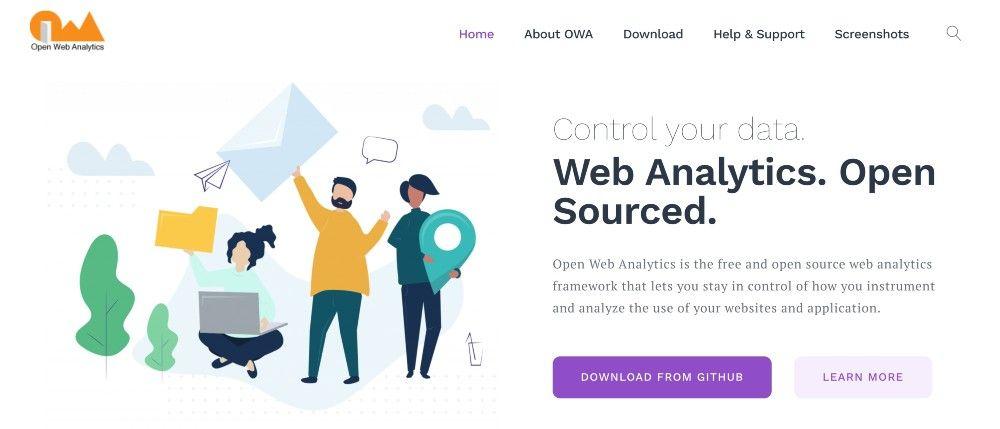 open web analytics free marketing analytics tools