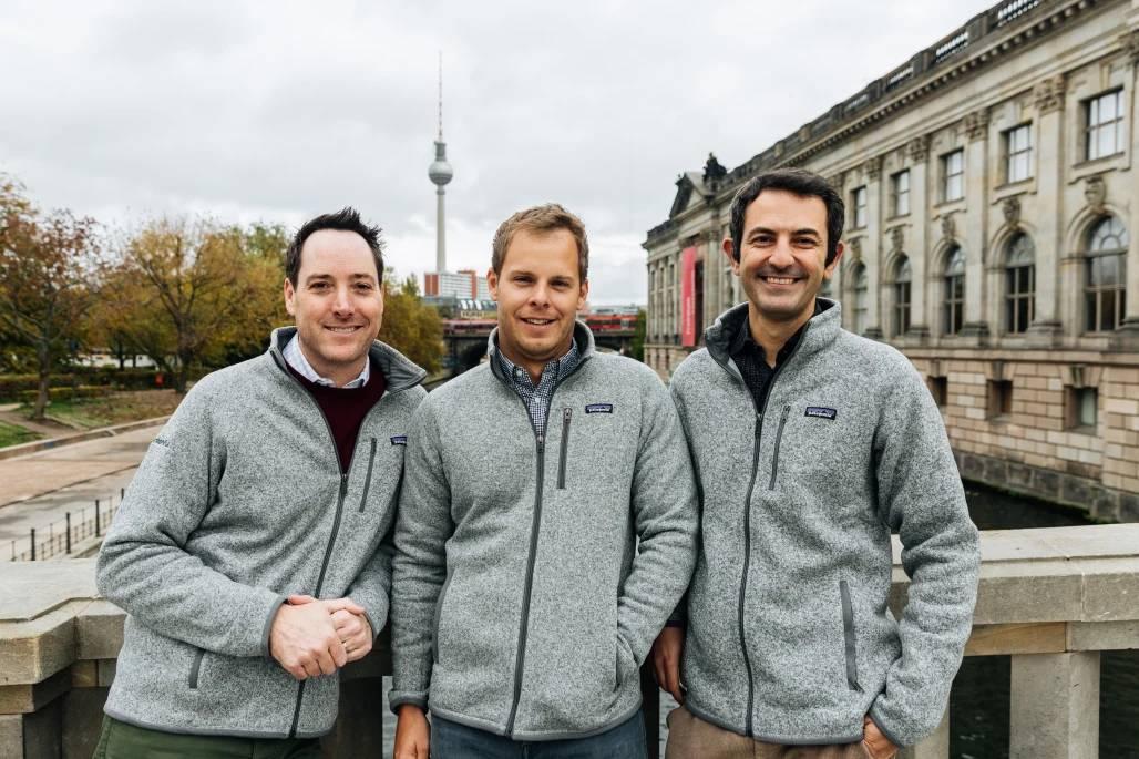 contentful founders - Steve Loan (CEO), Sascha Konietzke (CSO), and Paolo Negri (CTO)