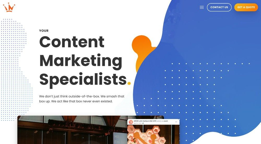 top content marketing agencies asia pacific - king content