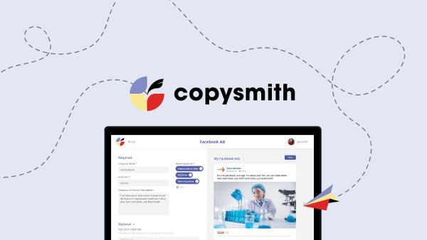 Martech highlight: Copysmith raises US$10M to improve creative content with AI