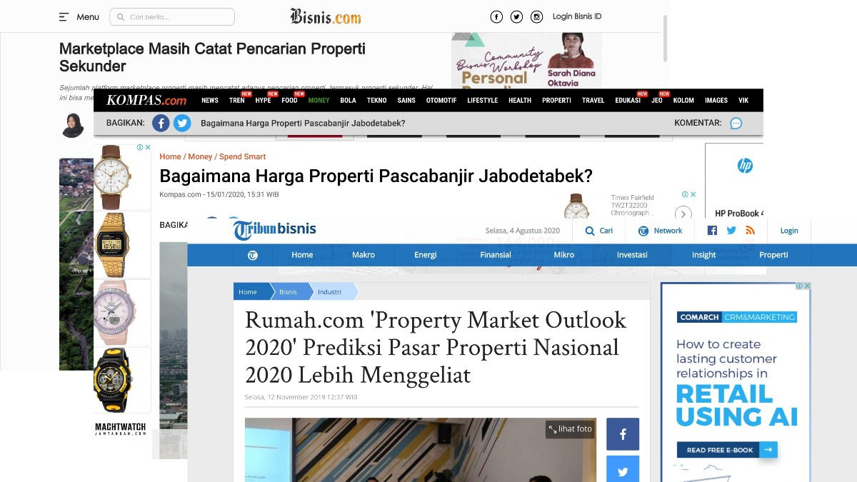 rumah media coverage - content marketing strategy