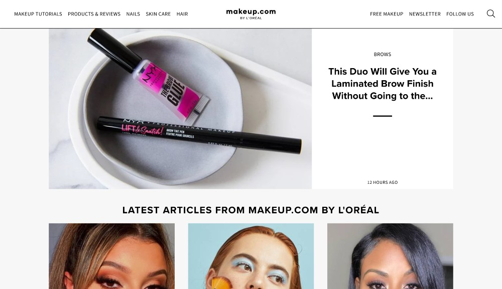 makeup.com - how to start a blog for business growth